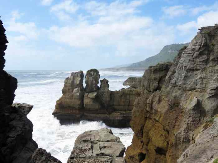Nouvelle Zélande West Coast Pancake Rocks Punakaiki 2016 ©Etpourtantelletourne.fr