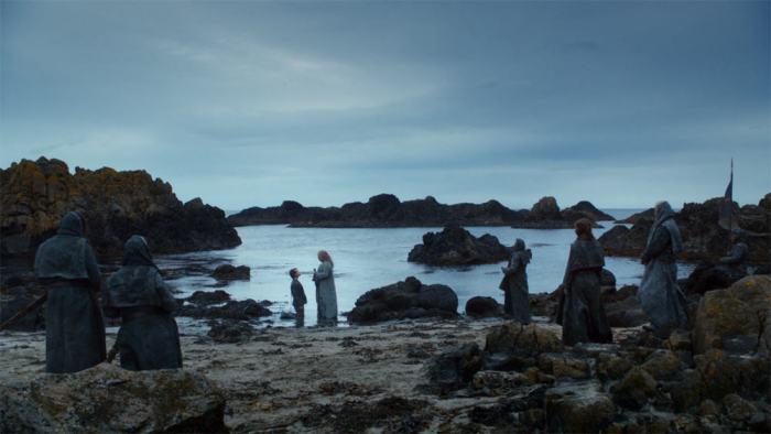 Itinéraire sur les lieux de tournage de Game of Thrones en Irlande du Nord - Ballintoy ©HBO