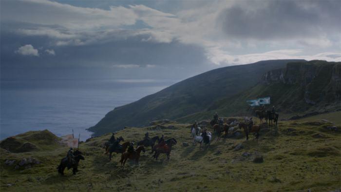 Itinéraire sur les lieux de tournage de Game of Thrones en Irlande du Nord - Murlough Bay - HBO