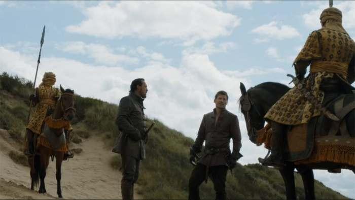 Itinéraire sur les lieux de tournage de Game of Thrones en Irlande du Nord - Portstewart ©HBO