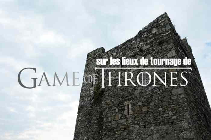 Itinéraire sur les lieux de tournage de Game of Thrones en Irlande du Nord ©Etpourtantelletourne.fr