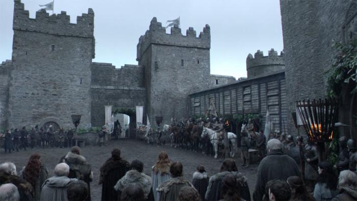 Itinéraire sur les lieux de tournage de Game of Thrones en Irlande du Nord - Castle Ward - Winterfell - HBO