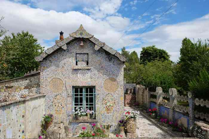 Chartres Maison Picassiette 2017 ©Etpourtantelletourne.fr