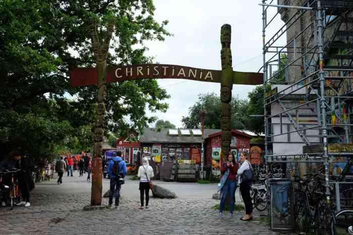 Ville libre Christiania Copenhague ©Etpourtantelletourne.fr