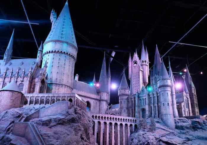 Lieux de tournage Harry Potter à Londres studios Warner Bros ©Etpourtantelletourne.fr