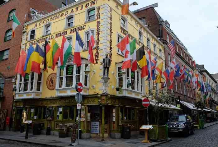 Dublin Temple Bar ©Etpourtantelletourne.fr