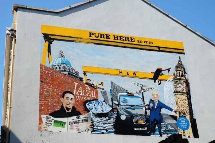 Belfast Street Art ©Etpourtantelletourne.fr