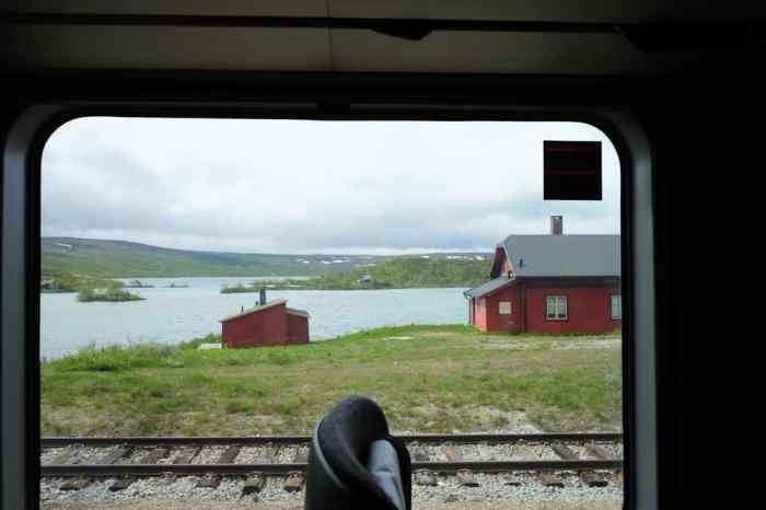 Trajet en train d'Oslo à Bergen ©Etpourtantelletourne.fr