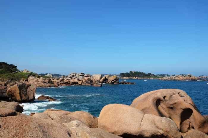 Côte de Granit Rose Ploumanac'h chemin côtier ©Etpourtantelletourne.fr
