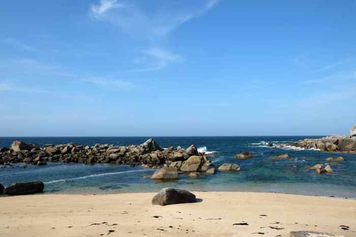 Plouescat côte Finistère Nord ©Etpourtantelletourne.fr