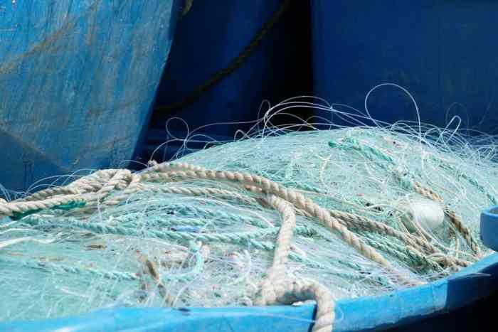 Port de Roscoff filet de pêche ©Etpourtantelletourne.fr