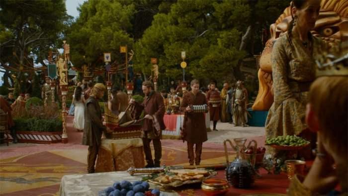 Copie d'écran tirée de la série « Game of Thrones » saison 4, épisode 2 / HBO