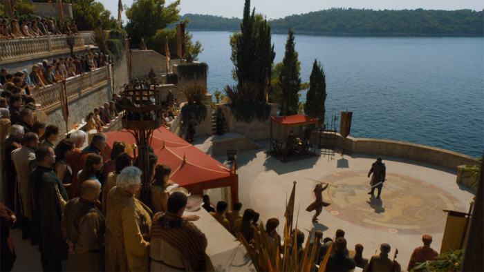 Copie d'écran tirée de la série « Game of thrones » saison 4, épisode 8 / HBO