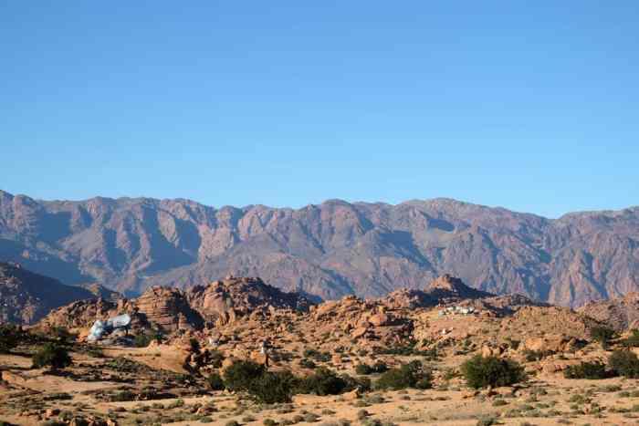 les rochers peints Tafraoute Maroc ©Etpourtantelletourne.fr