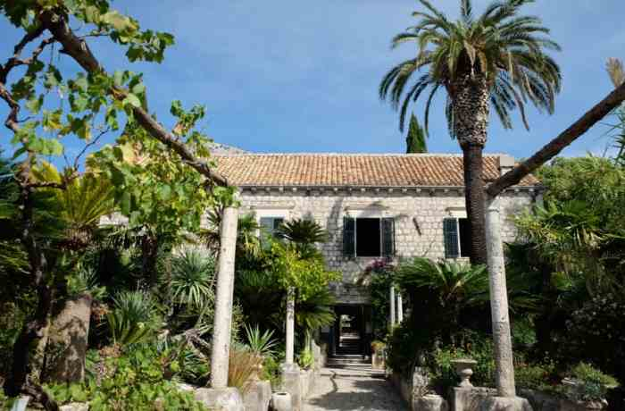 L'arboretum de Trestno près de Dubrovnik©Etpourtantelletourne.fr