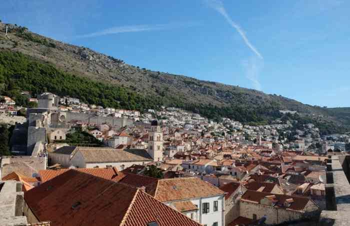 Tour des remparts de Dubrovnik ©Etpourtantelletourne.fr
