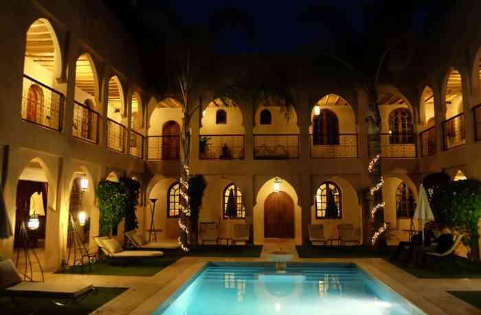 Maison d'hôtes Riad Janoub à Tiznit Maroc ©Etpourtantelletourne.fr