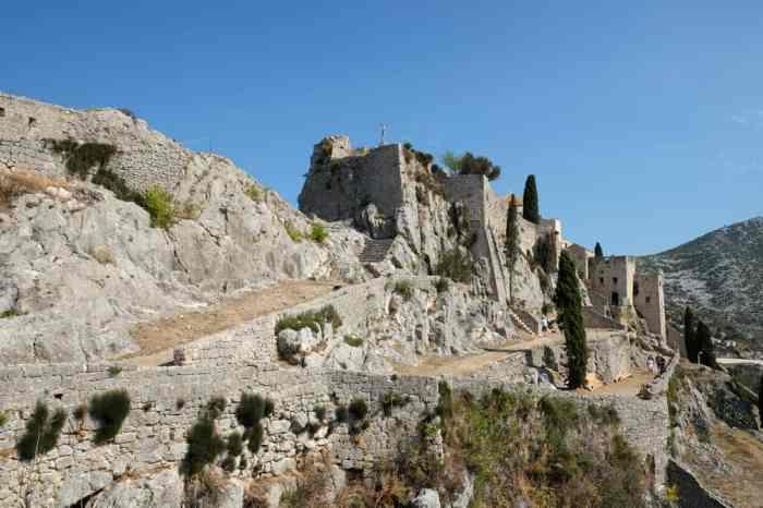 La Forteresse médiévale de Kliss à proximité de Split ©Etpourtantelletourne.fr