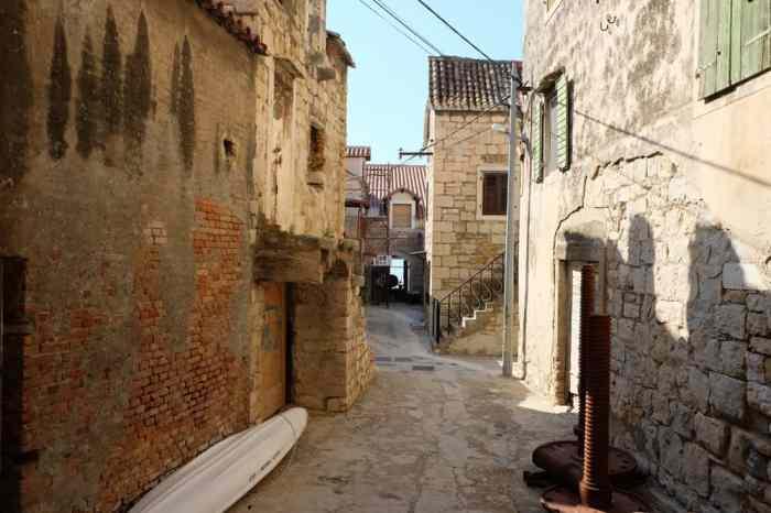 Visite de Kastel Gomilica à proximité de Split ©Etpourtantelletourne.fr