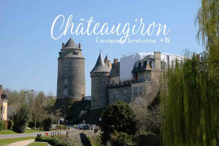 Visite de Châteaugiron  ©Etpourtantelletourne.fr