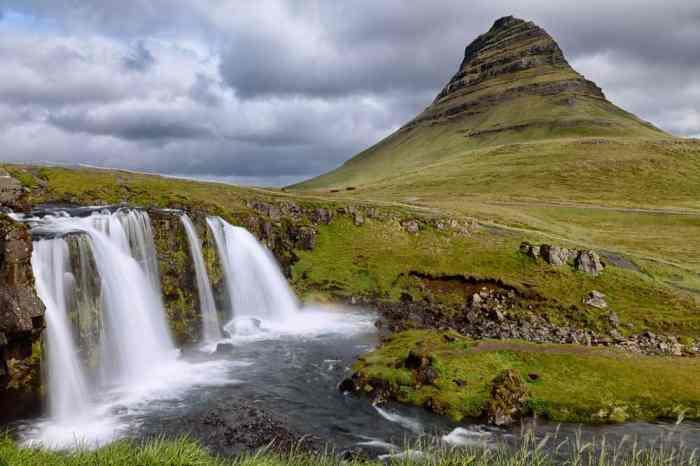Itinéraire sur les lieux de tournage de Game of Thrones en Islande - Mont Kirkjufell - roi de la nuit enfants de la foret