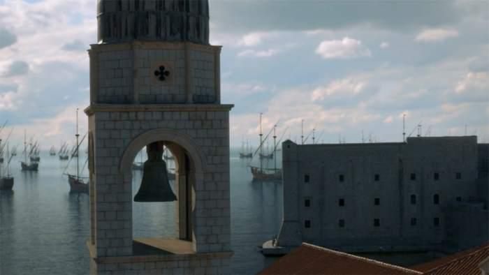 Copie d'écran tirée de la série « Game of Thrones » saison 8, épisode 5 / HBO