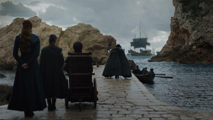 Copie d'écran tirée de la série « Game of Thrones » saison 8, épisode 6 / HBO