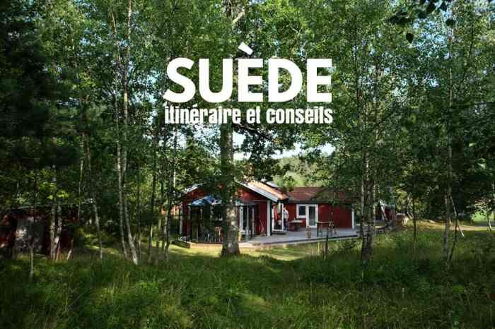 Itinéraire et conseils pour un séjour en famille en Suède // ©etpourtantelletourne.fr