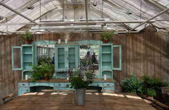 Restaurant dans les jardins de Rosendals Trädgård en Suède // ©etpourtantelletourne.fr