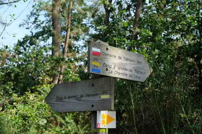 Itinéraires des randonnées à Brocéliande ©Etpourtantelletourne.fr