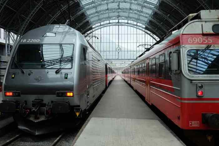 Arrivée à la gare de Bergen ©Etpourtantelletourne.fr