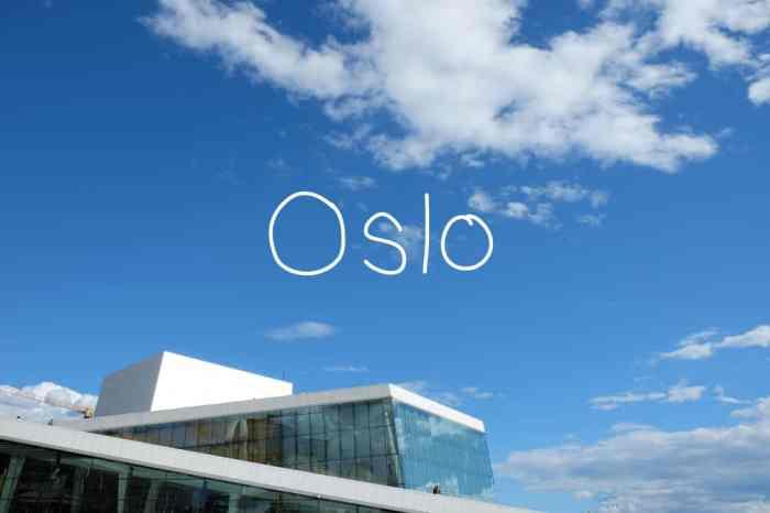 Conseils et bonnes adresses pour un week-end en famille à Oslo ©Etpourtantelletourne.fr