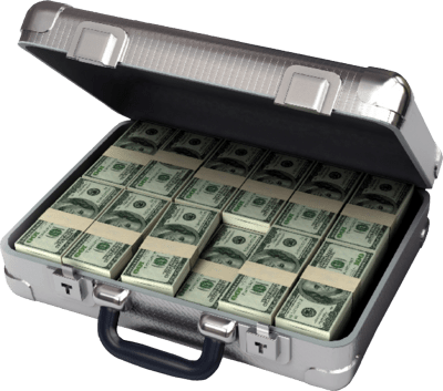 Money Suitcase $60 miracle money maker $60 Dollar Miracle Money Maker briefcase money psd36321