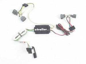 Tow Ready Custom Fit Vehicle Wiring for Honda Ridgeline