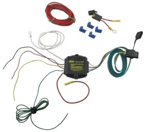PlugNTow (R) Short Proof Powered Taillight Converter  Heavy Duty Hopkins Wiring 46365