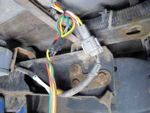 Curt TConnector Vehicle Wiring Harness with 4Pole Flat