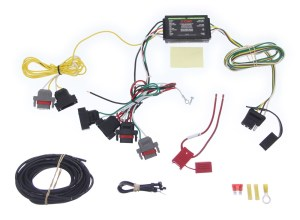 Custom Fit Vehicle Wiring by Curt for 2009 PT Cruiser  C55532