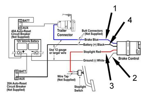 Hayes Brake Controller Wiring Diagram: Venturer Brake Controller Wiring Diagram   Nilza net,