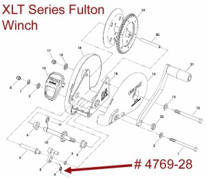 Exploded Diagram for a Fulton XLT Series Winch | etrailer