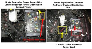 Finalizing Final Under Hood Wiring Connections for Brake Controller on 2009 GMC Sierra
