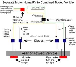 Roadmaster Universal HyPower Diode Wiring Kit Roadmaster
