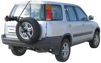 how to choose a spare tire bike rack
