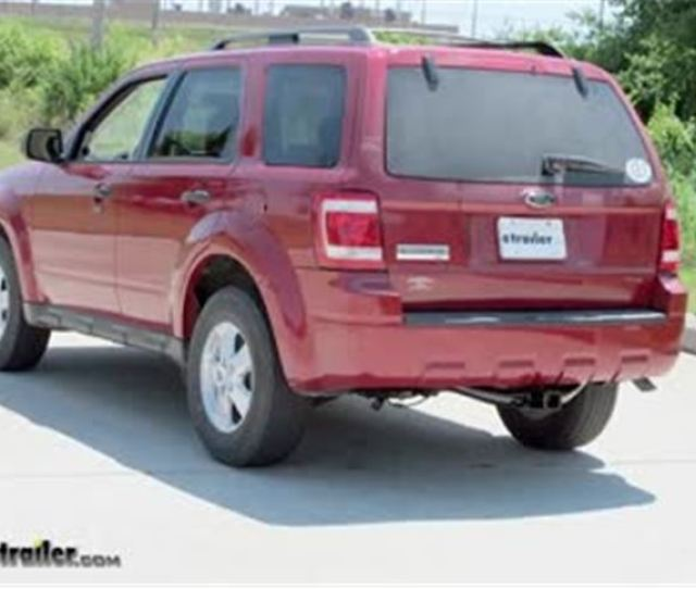 Best  Ford Escape Trailer Hitch Options