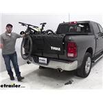 truck bed bike rack etrailer com