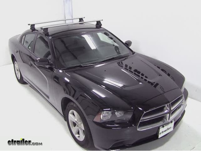 thule aeroblade traverse roof rack installation 2012 dodge charger