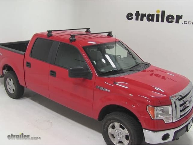 thule traverse roof rack installation 2011 ford f 150