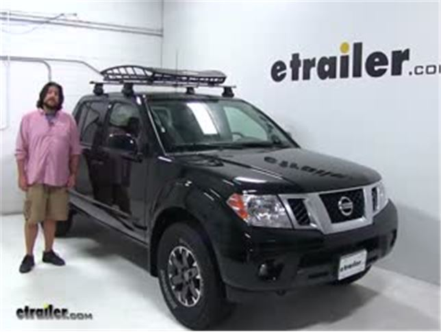 thule roof basket review 2018 nissan frontier