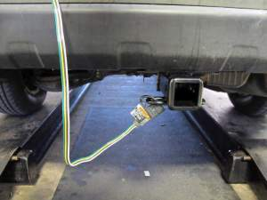 TOne Vehicle Wiring Harness with 4Pole Flat Trailer