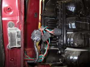 2012 Jeep Liberty TOne Vehicle Wiring Harness with 4Pole
