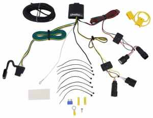 2017 Ford Escape TOne Vehicle Wiring Harness with 4Pole